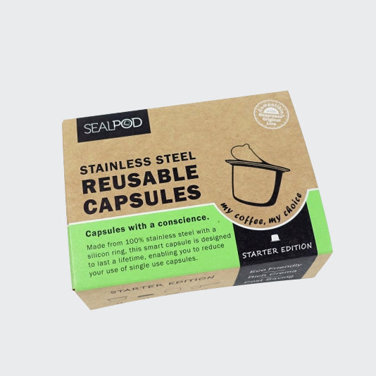 SealPod Nespresso® Reusable Coffee Pod Starter Pack - Maverick Coffee Co.