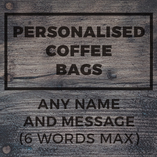 Personalised Coffee - Maverick Coffee Co.