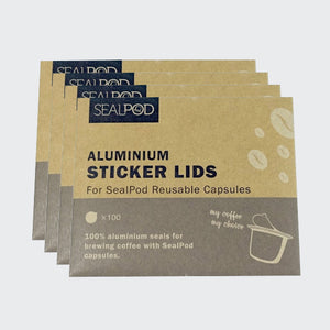 Sealpod Nespresso® Coffee Pod Foil Lids x 400 (4 x 100 packs) - Maverick Coffee Co.