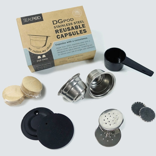 DGpod Dolce Gusto Duo Reusable Capsules 2 Pack - Maverick Coffee Co.