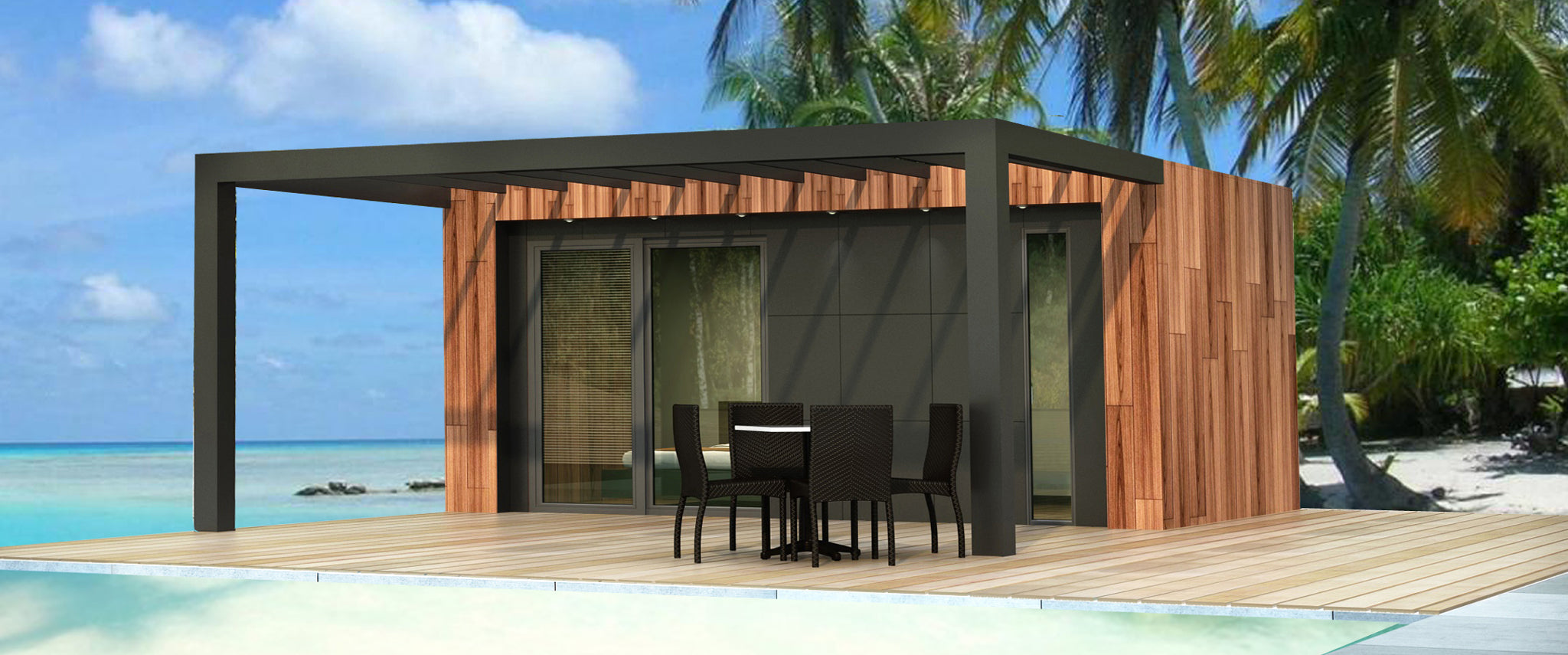 Bauhu Lifestyle container homes and garden annexe cabins