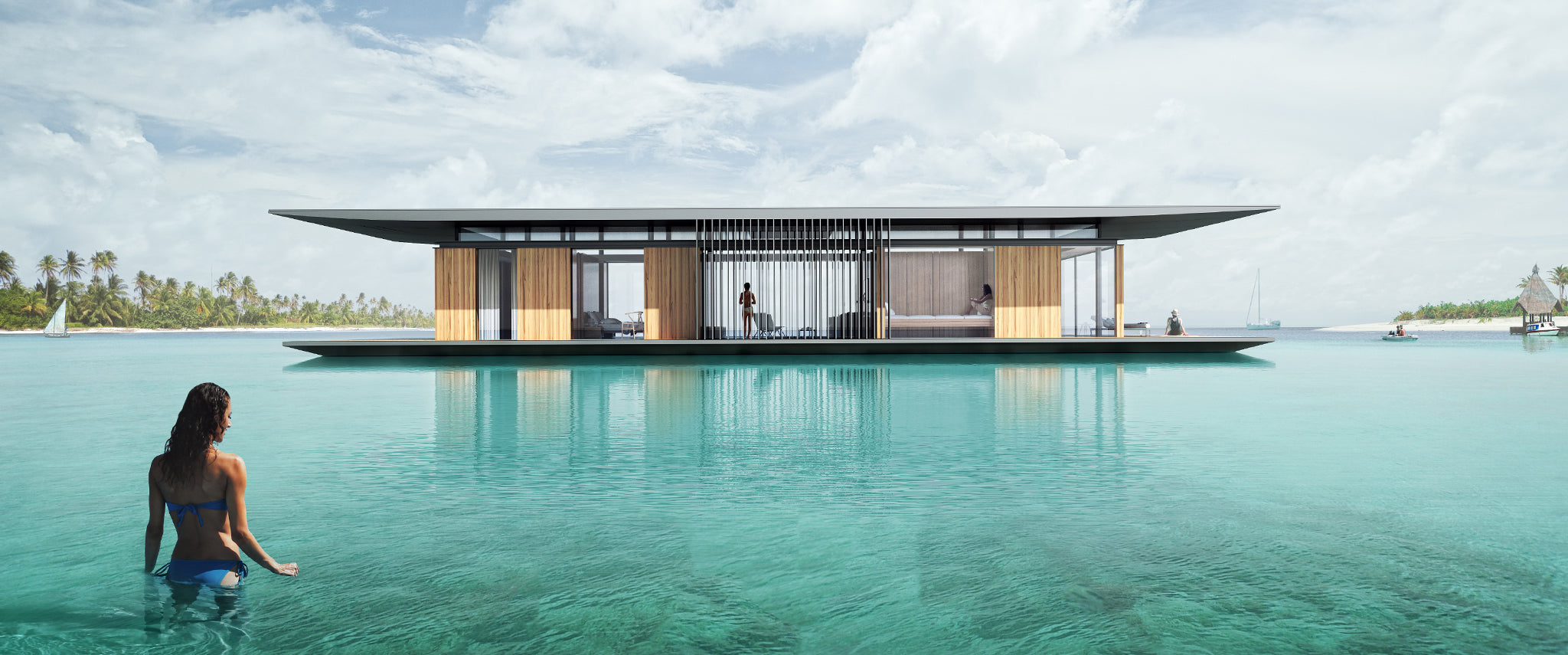 Bauhu Lifestyle floating homes