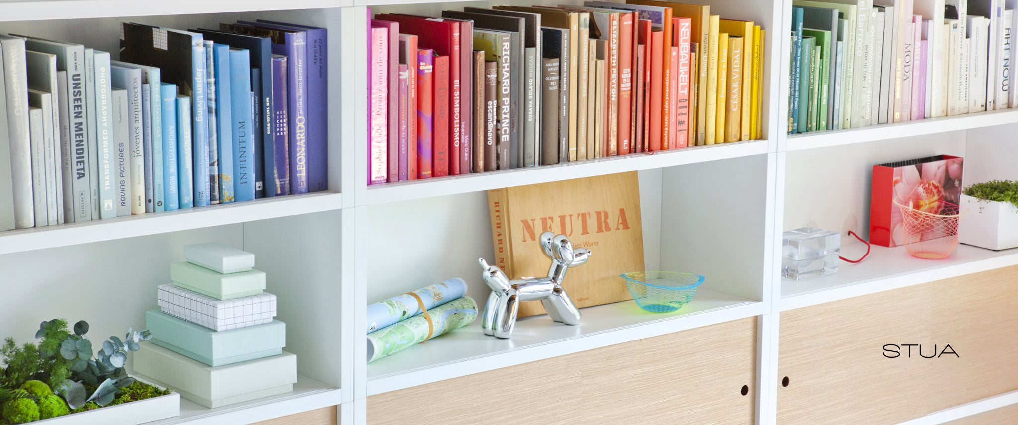 Bauhu Lifestyle shelving and bookshelves