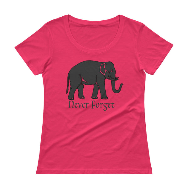 Elephants Never Forget Women's T-Shirt