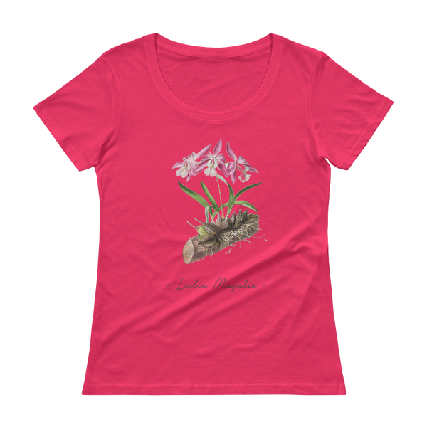 Vintage Orchid Illustration Women's T-Shirt (Laelia Majalis)