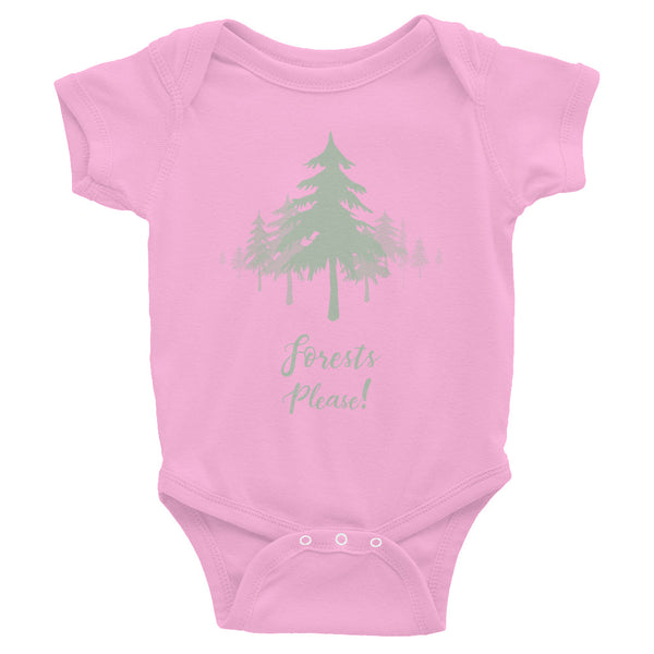Forests Please! Baby Onsie
