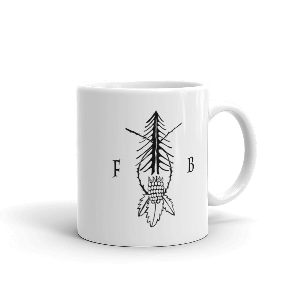 Fir and Bramble Logo Mug