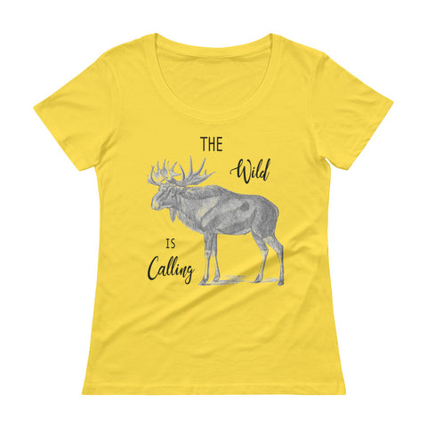 The Wild Is Calling Women's T-Shirt