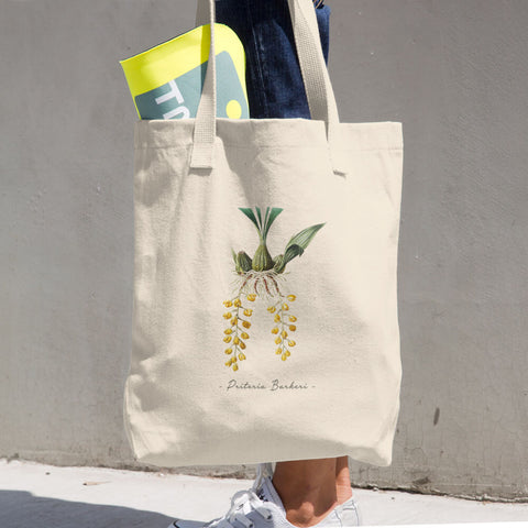 Vintage Orchid Illustration Tote Bag (Priteria Berkeri)