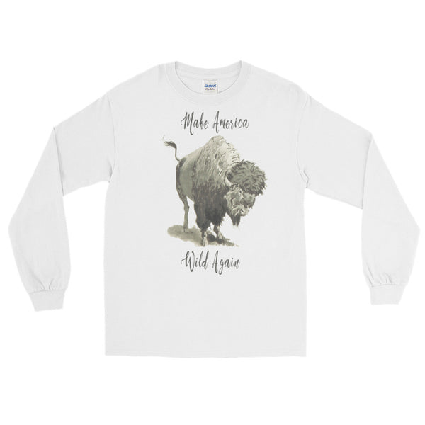 Make America Wild Again Long Sleeve T-Shirt