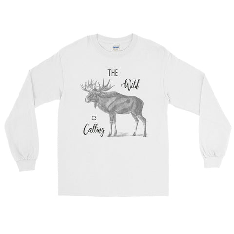 The Wild Is Calling Long Sleeve T-Shirt