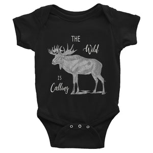 The Wild is Calling Baby Onesie