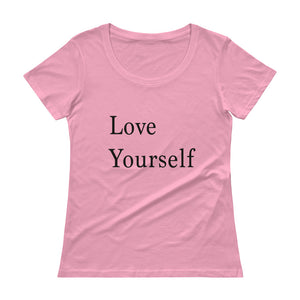 Ladies' Love Yourself Scoopneck T-Shirt