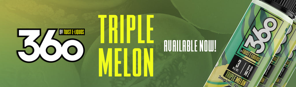 360 Triple Melon by Twist E-Liquids