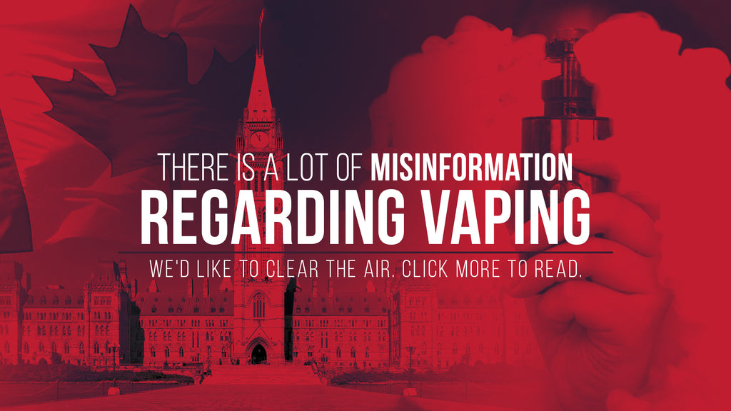 Misinformation Regarding Vaping | Clear The Air
