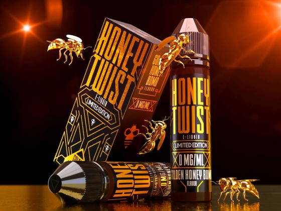 Golden Honey Bomb 60ml - Twist