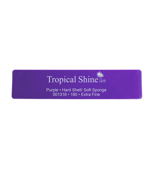 Tropical Shine - Purple Hard Shell/Soft Sponge