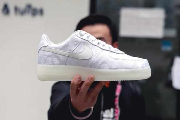 CLOT x NIKELAB SILK AIR FORCE 1 LAUNCH AT JUICE
