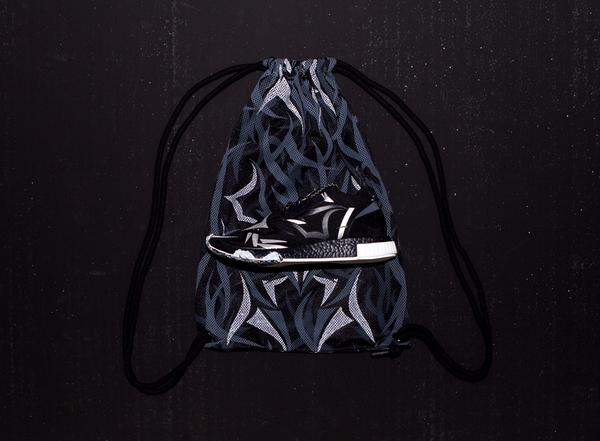 Exclusive Black Alienegra Mesh Bag
