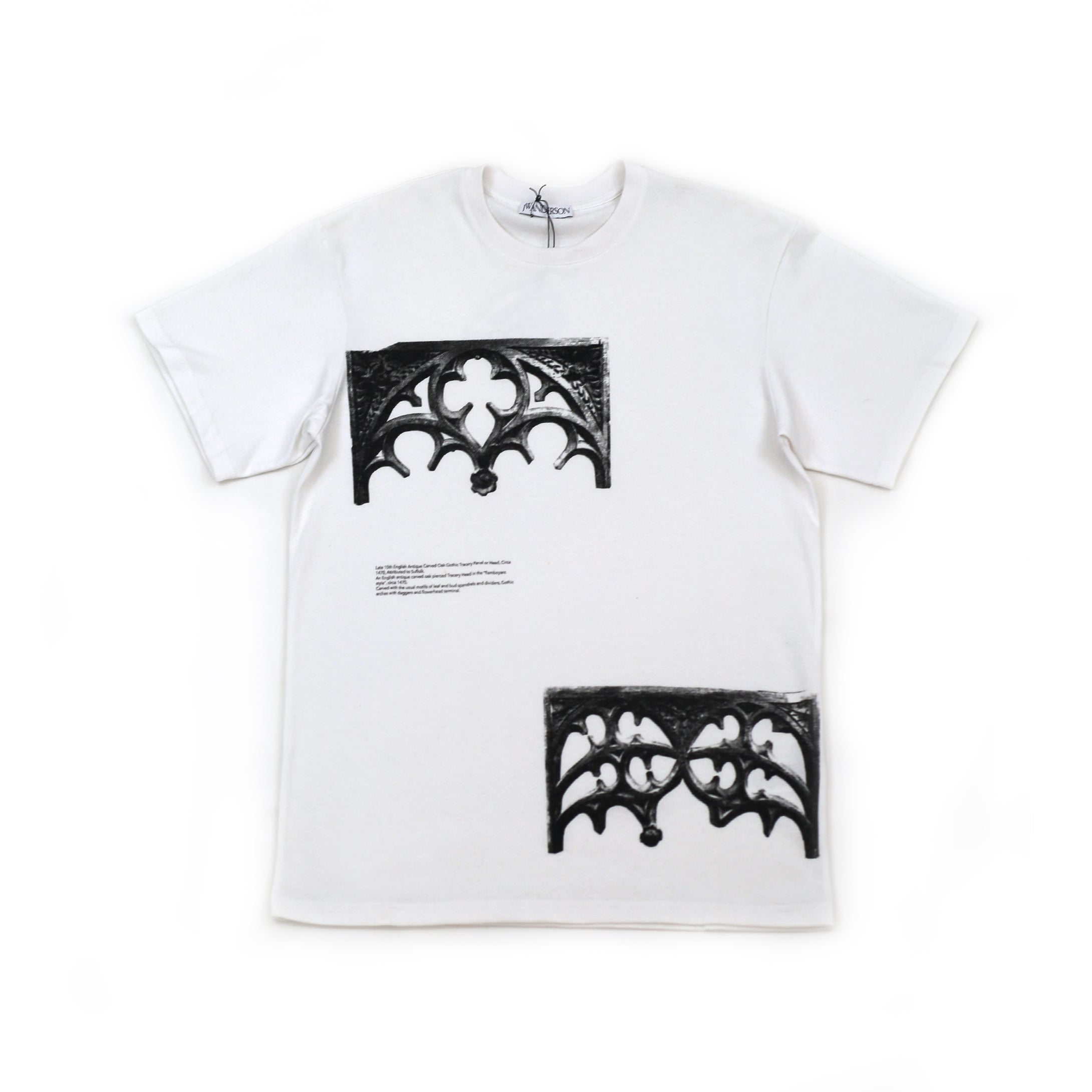 JW Anderson Gates Printed T