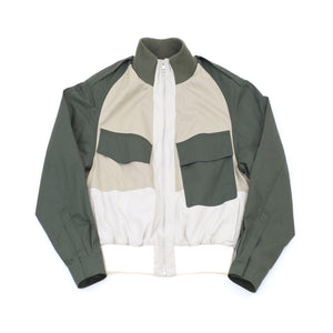 JW Anderson Color Block Asymmetric Jacket