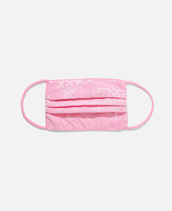 CLOT SILK MASK COVER, PINK