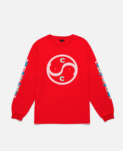 CRAZYSEXYCOOL LS TEE, RED