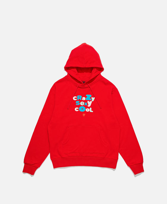 CRAZYSEXYCOOL HOODIE, RED