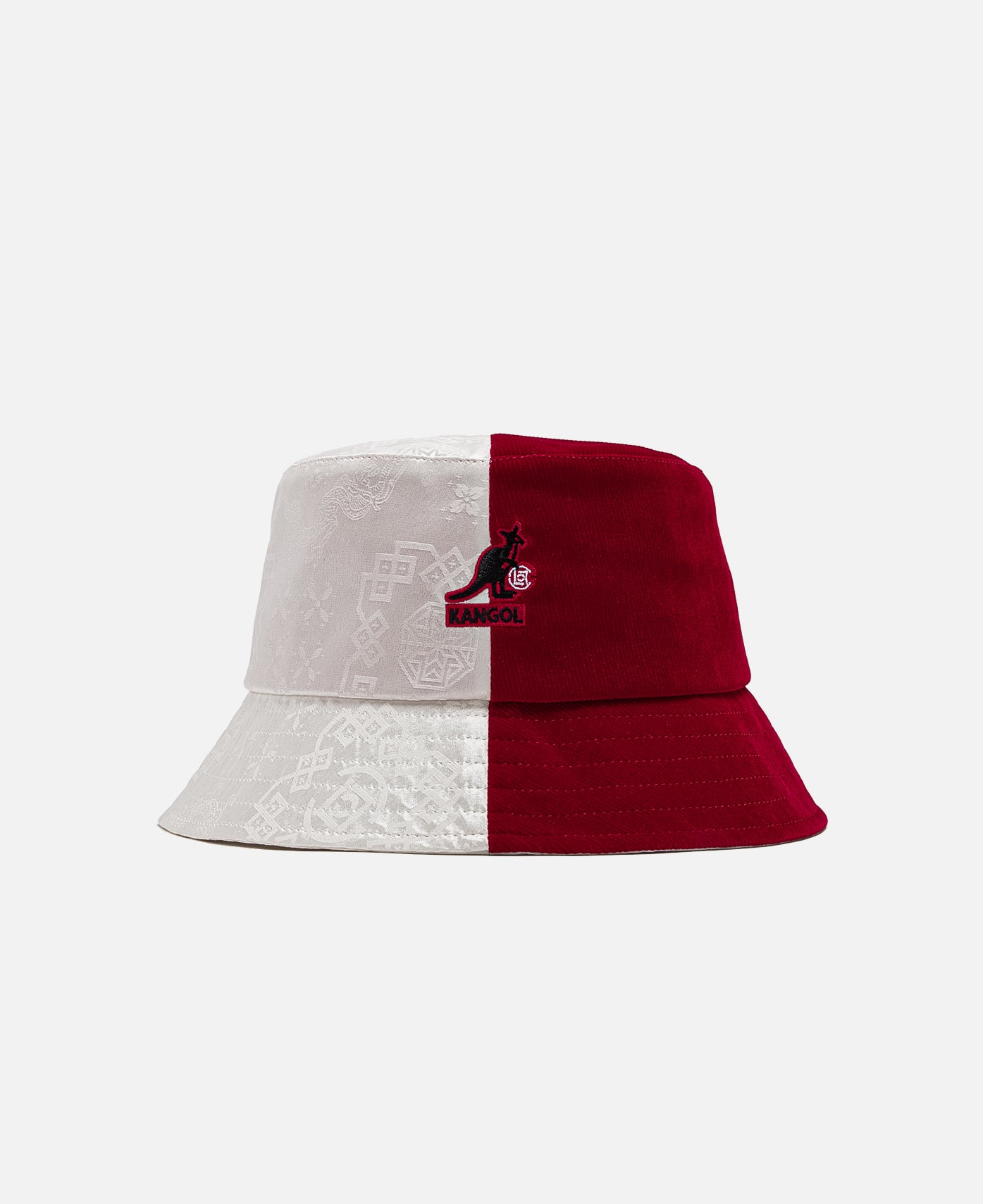 KANGOL X CLOT CORD BUCKET, RED