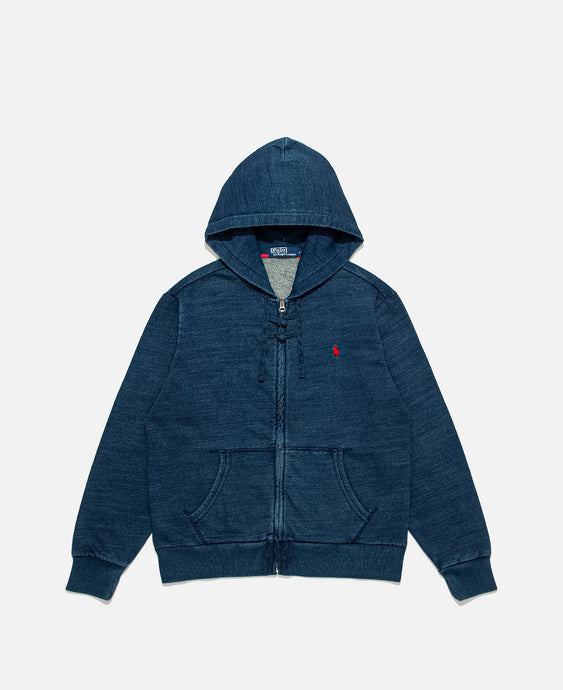 POLO X CLOT - L/S ZIP UP HOODIE