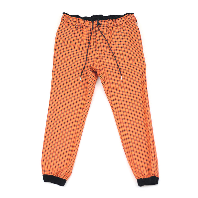 Sacai Gunclub Check Pants Orange
