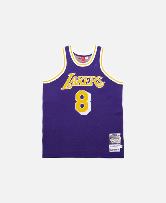Clot X Mitchell & Ness Kobe Bryant Lakers Throwback Jersey