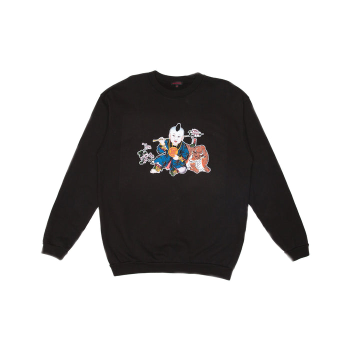 BLACK CHINESE CNY CREWNECK