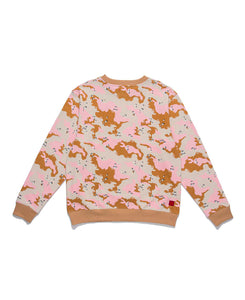 ICE-CREAM CAMO CREWNECK SWEAT