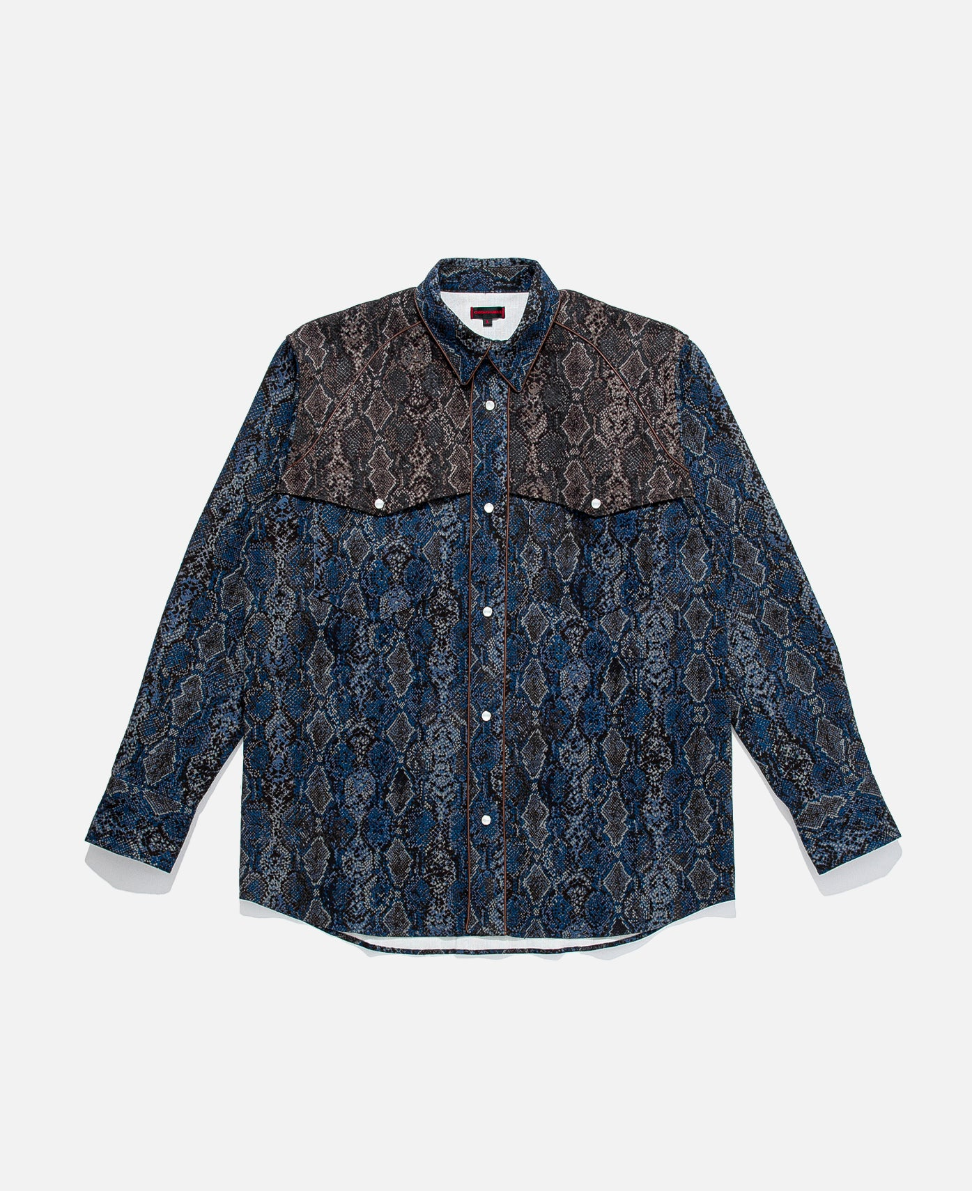 SNAKE PT BUTTON UP WESTERN SHIRTS