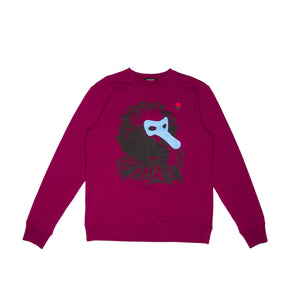 RED PURPLE CREWNECK (UCX4892-3)