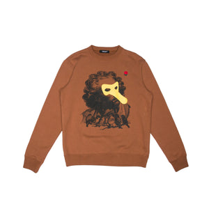 BROWN CREWNECK (UCX4892-3)