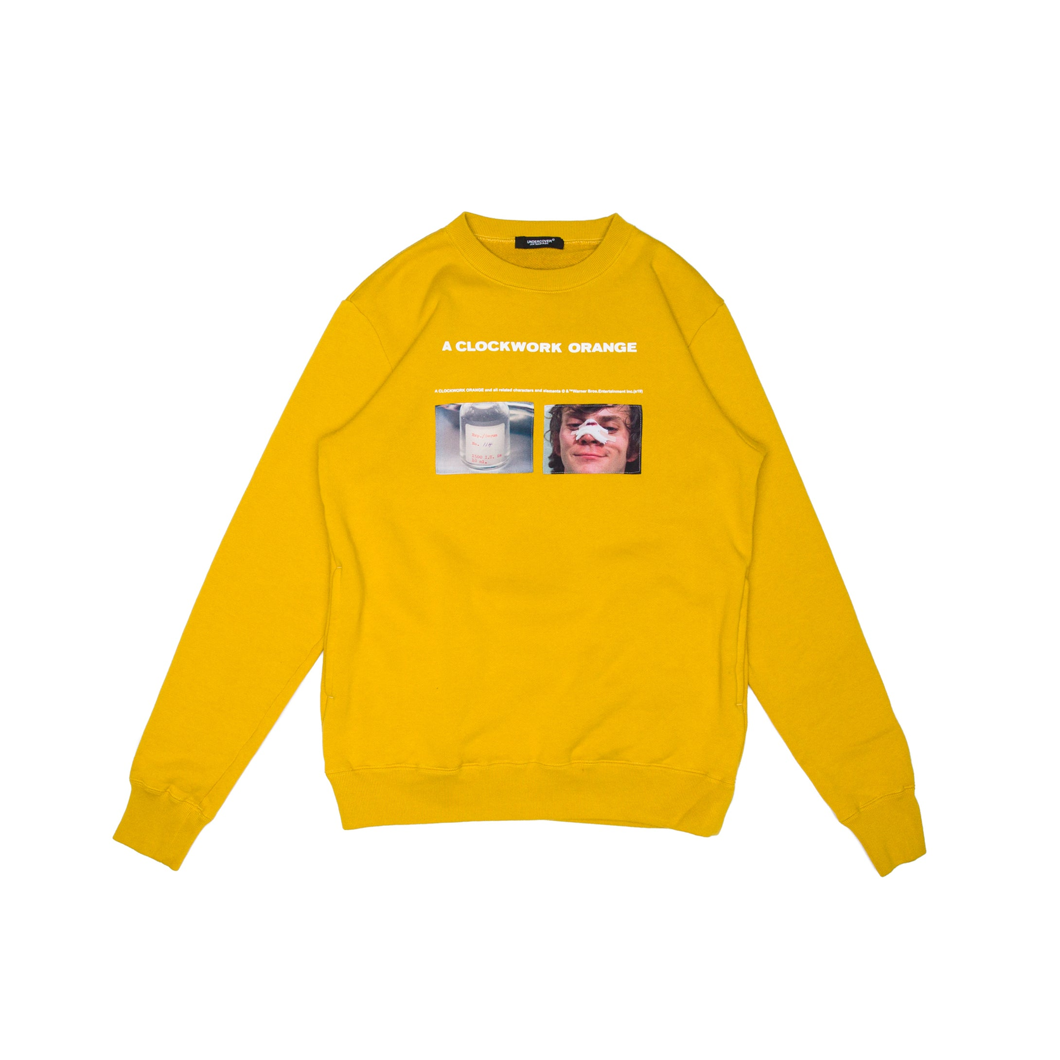YELLOW CREWNECK (UCX4803-2)