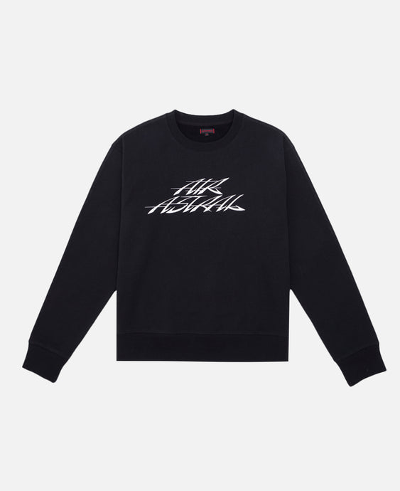 AIR ASTRAIL CREWNECK SWEATER (BLACK)