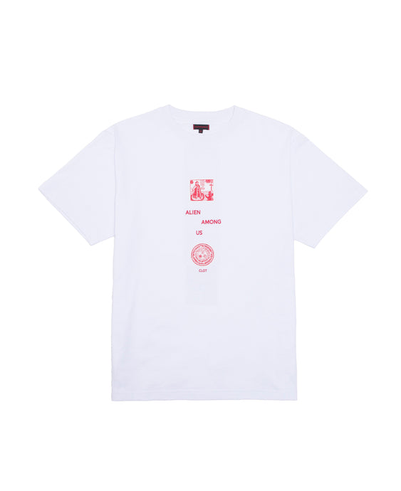 ALIEN AMONG US TEE (WHITE)