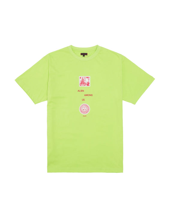 ALIEN AMONG US TEE (GREEN)