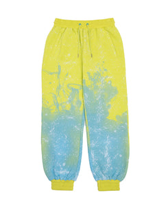 STARS ALL OVER SWEAT PANTS (YELLOW)