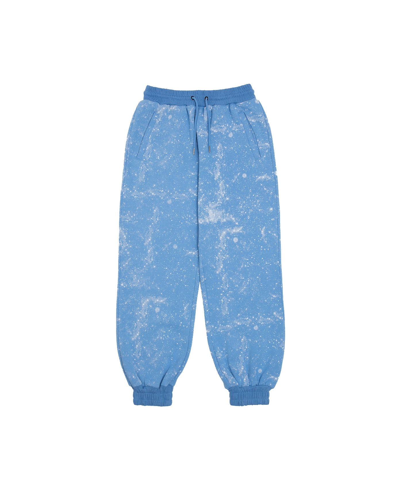 STARS ALL OVER SWEAT PANTS (BLUE)