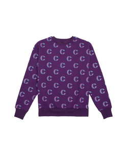 Clot Out Of This World Crewneck Purple