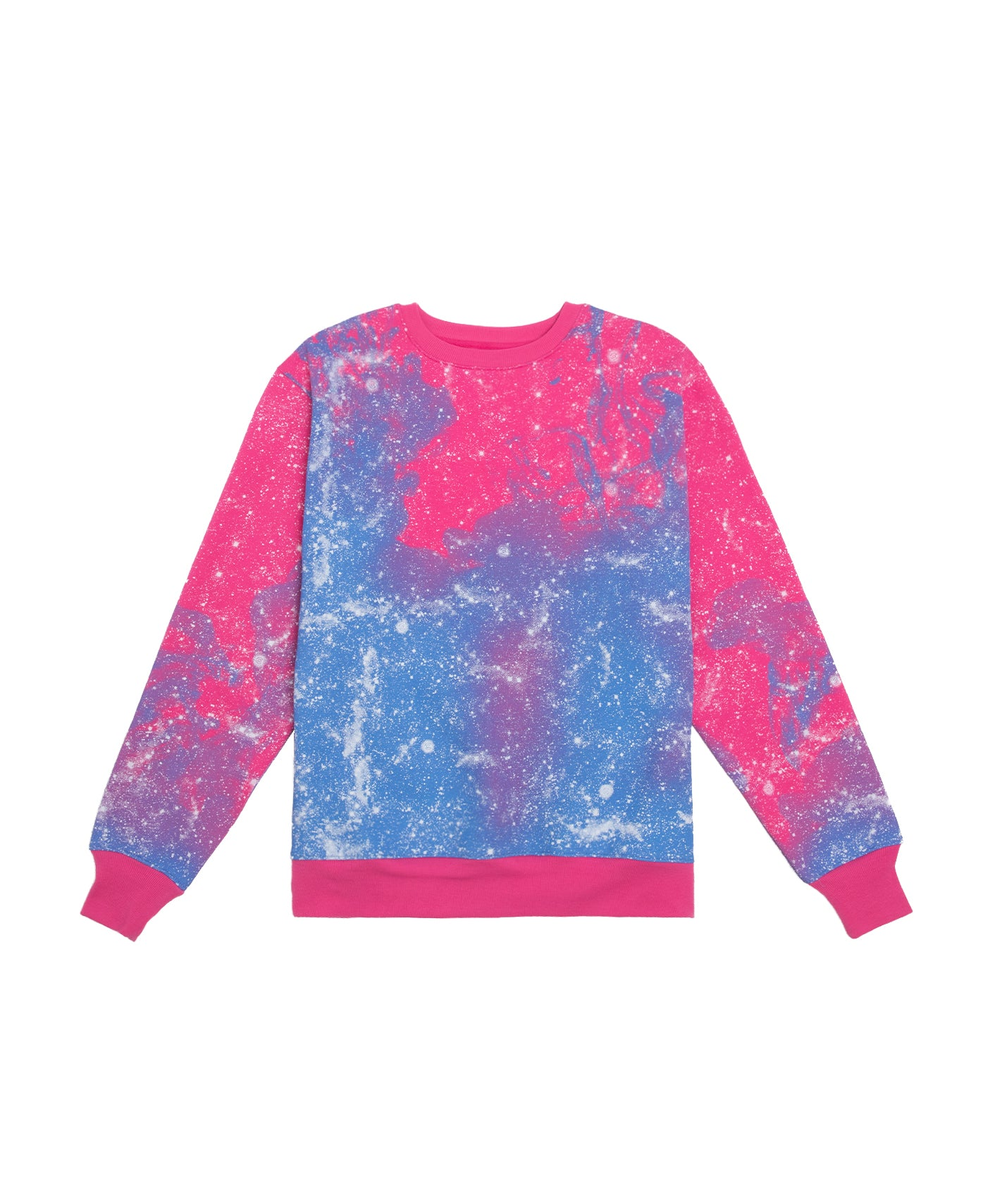 STARS ALL OVER CREWNECK SWEAT (PINK)