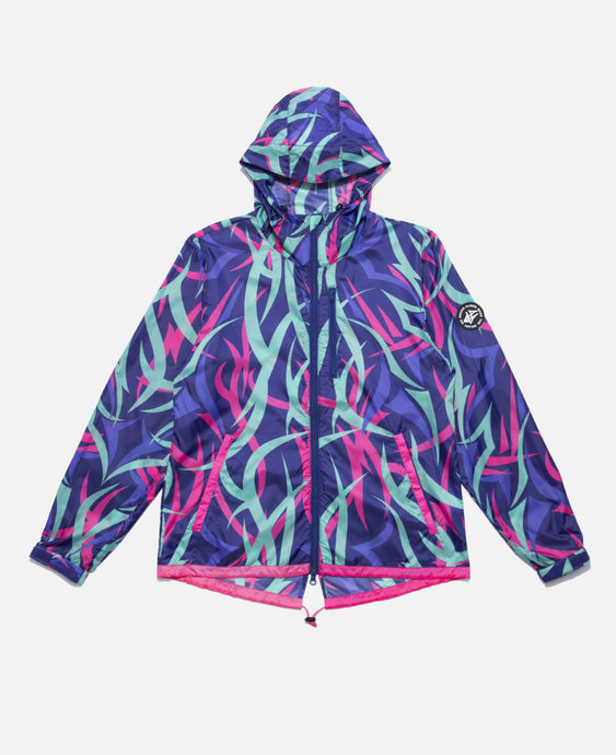 ALIENEGRA PACKABLE WINDBREAKER NAVY