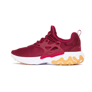 REACT PRESTO TEAM RED/TEAM RED-WHITE-GUM LIGHT BROWN