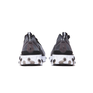 REACT ELEMENT 87 ANTHRACITE/BLACK-WHITE