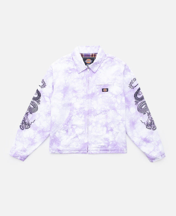 DRAGON WORK JACKET (PURPLE)