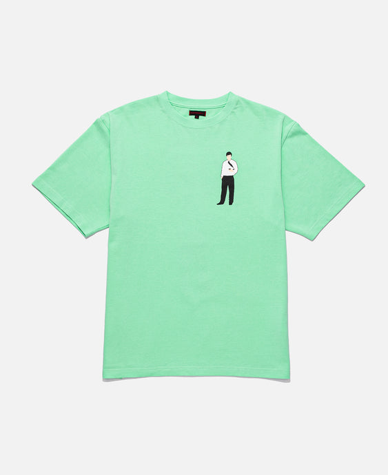 CLOT OFFICE MAN TEE, GREEN